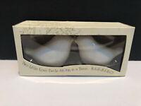 Love Birds White Salt & Pepper Shaker Set Kate Aspen NIB