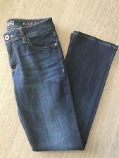 DL1961 Dark Blue ELODIE Insta Sculpt Bootcut Pulse Jeans Size 27