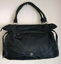 New Ladies Celebrity Style Tote Satchel Barrel Bag Women Handbag