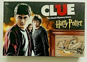 USAopoly: Clue Harry Potter Board Game Accessory Dark Deck Replacement Cards