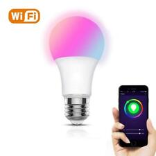 Smart bulb LED Wi-Fi Dimmable RGB Remote control E27 Alexa/Echo/Google home