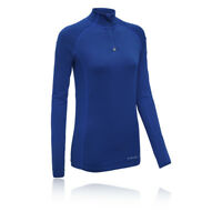 Higher State Womens Half Zip Running Top Run Sports Casual Training Blue