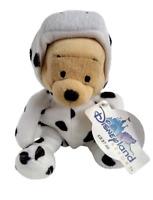 Winnie The Pooh Cow Plush Disney Land Resort Plush Mini Bean Bag Stuffed Toy New
