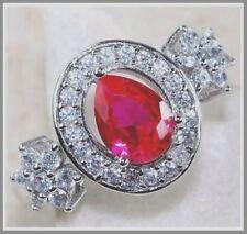 Ruby Sterling Silver Ruby Fine Rings