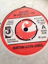 Burton Lloyd Jones - Falling In Love With You / Roll Me Love