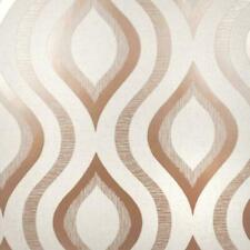 Wallpaper Designer Retro Modern Pink Magenta /& Pewter Dot Diamond Optic