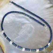Natürliche Echtschmuck-Halsketten Malachit