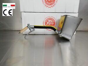 PLASTER SPRAYER MORTAR  SPRAYER STUCCO SPRAYER -STAINLESS STEEL- NEW FLOW GUN