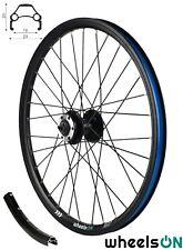 20 inch QR wheelsON Front Wheel Folding Bike Eyelets Disc Brake Black Spokes