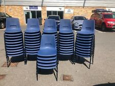 More details for used stackable chairs x 55 (school,classroom,event)