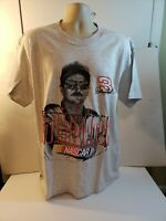 VINTAGE DALE EARNHARDT NUTMEG T-SHIRT SIZE LARGE NEW WITH TAGS