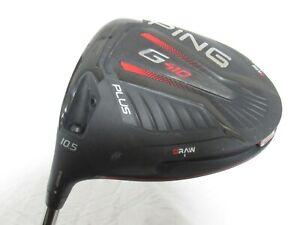 Used LH Ping G410 Plus 10.5* Driver Ping 65 Graphite Regular R Flex