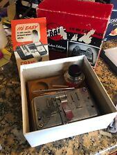Craig 8mm 16mm Junior Splicer Film Movie Vintage Box Instructions Editing Jar