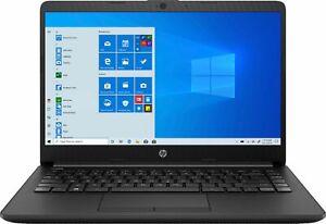 "HP - 14"" Laptop - AMD Athlon - 4GB Memory - 128GB SSD - Jet Black"