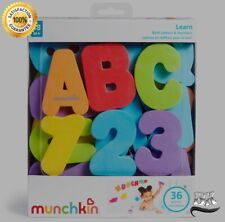 Floating Letters And Numbers Multicolored Kids Bath Toy Soft Durable & Non-toxic