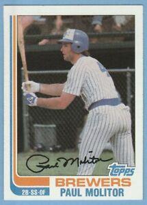 1982 Topps #195 PAUL MOLITOR Milwaukee Brewers