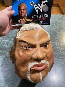 Vintage 2001 Cesar Titan Sports RIKISHI Halloween Mask WWE WWF *BRAND NEW*
