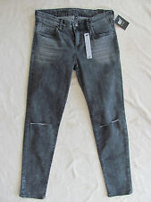 Kut From The Kloth Diana Skinny -Slit Knees -Gray Wash -Size 8- NWT $89