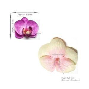Artficial Silk PHALAENOPSIS ORCHID 36 PURPLE 48 WHITE Wedding Invitation