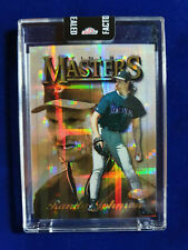 🌟1997 Finest Refractor Randy Johnson SUPER RARE GOLD ATOMIC TEST PROOF