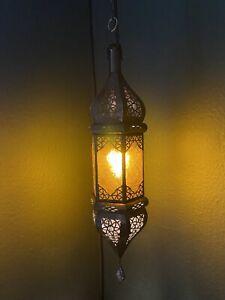 Orientalische Laterne Marokkanische Lampe Hängeleuchte Deckenlampe ca. 50
