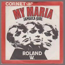 """7"""" Roland W. My Maria / Jamaica Girl 60`s Cornet 3047"""