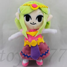 "The Legend of Zelda Wind Waker Princess 7.5"" Stuffed Animal Plush soft Toy Teddy"