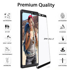 Screen Protector for SAMSUNG Galaxy Note 8 Glass FILM Tempered COVER 5D Black