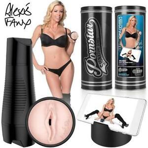 Pornstar Alexis Fawx Rechargeable Pussy Stroker Male Sex Toy Masturbator