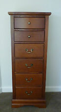 Antique Style Tasmanian Oak 'Lingerie' Chest of 6 Drawers - Hycraft Furniture!
