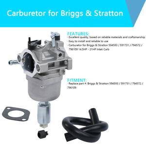 Carburetor Fit For Briggs & Stratton 594593 591731 794572 796109 14.5-21hp Intek