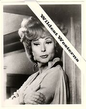 Rare AGNES MOOREHEAD vintage original candid photo Endora on set of BEWITCHED