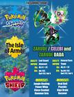 Pokemon Sword and Shield Zarude/Shiny Celebi/Zarude Dada Form Pokemon Home