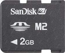 SanDisk Memory Stick Micro 2 GB Memory Stick Micro (M2) Card