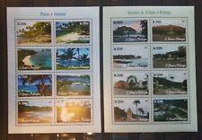 N32.Briefmarken Natur 2015 S.Tome & Principe 2Kb.,postfrisch
