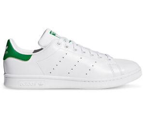 Adidas Originals Unisex Stan Smith Sneakers - Cloud White/Core White/GreenAI541