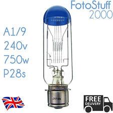 A1/9 240v 750w P28s Syl-9 SYLVANIA DKK Blue Top Projector Bulb Lamp