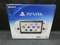 Sony PlayStation Play Station PS Vita Glacier White Slim PCH-2000 ZA22 From JP