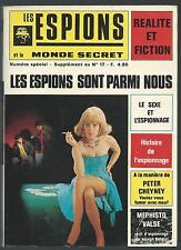 Les espions et le monde secret. N° special. 18-1. Transworld 1973 CV9
