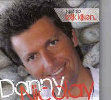 Danny Nicolay-Niet Zo Lelijk Kijken cd single