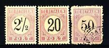 SURINAME - 1888-1889 - Segnatasse
