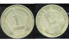 COLOMBIE 1 peso  1978