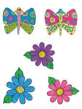 Butterfly Garden 25 KP Kids & Co Wallies Stickers Decor Decals Stickers Border