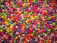 100 or 500 Mixed Pearl Pony Beads,DUMMY CLIPS,BRACELETS,HAIR BRADING (PB9M-PEA)