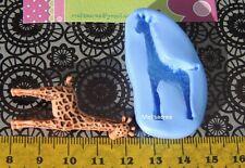 Moule Silicone  girafe (Fimo, résine, pâte à sucre,porcelaine froide)