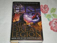 Rides a Dread Legion by Raymond E. Feist *Signed*