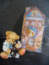 Cherished Teddies R Harrison Hartford Ct002 Club 1996 Brown Pencil w/ Pin Mib