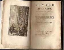 Voyage au Canada dans les années 1795 à 1797 tome 3 Isaac WELD Explorer 1803