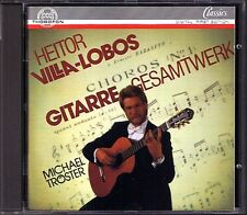 Michael TRÖSTER VILLA-LOBOS Suite populaire bresilienne Etudes Prelude CD Guitar