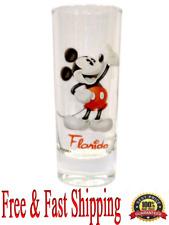 Disney Shot Glass Mickey Mouse Collector Glass (Florida Namedrop) Original
